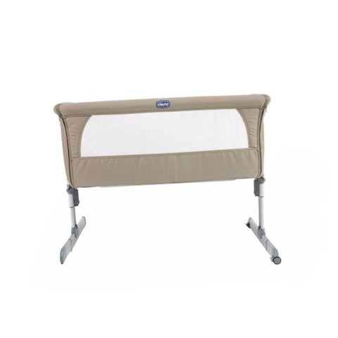 Next2me Bedside Crib - Dove Grey