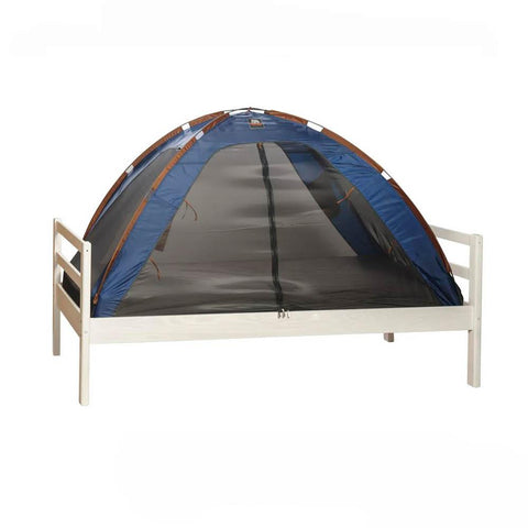 Single Bed Tent & Mosquito Net - Dark Blue (203x93x110cm)