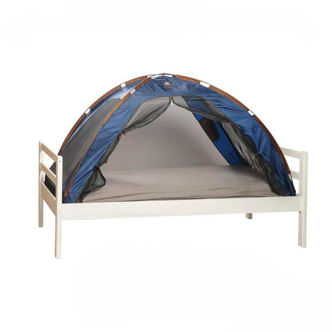 Single Bed Tent & Mosquito Net - Dark Blue