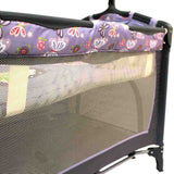 Cozy Camp Cot - Purple Butterfly