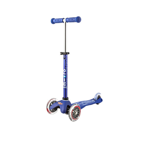 3-in-1 Deluxe Scooter - Blue