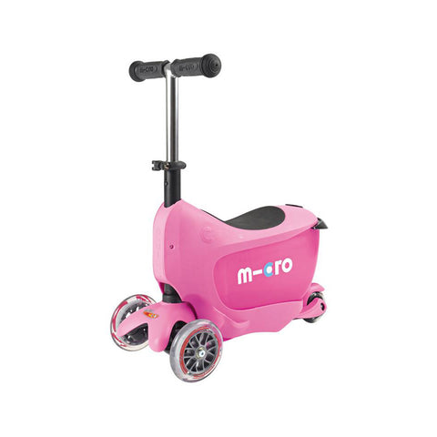 Mini2Go Deluxe Scooter - Pink