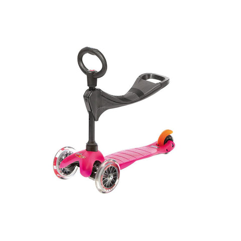 Mini 3-in-1 Scooter - Pink
