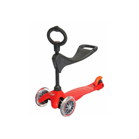 Mini 3-in-1 Scooter - Red