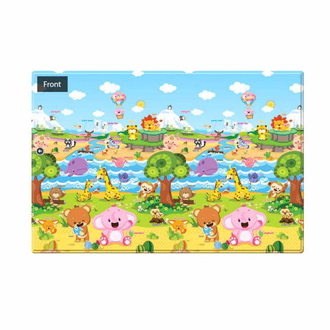 Double-Sided Play Mat - Small - Pingko Friends