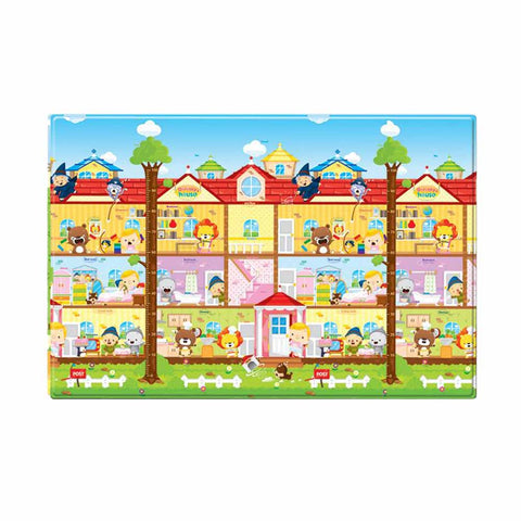 Double-Sided Play Mat - Small - Dorothy's House