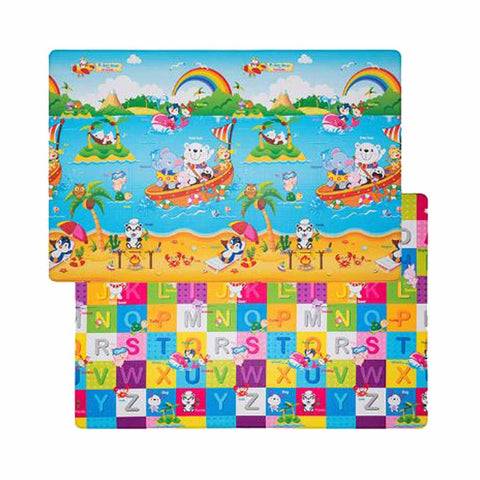 Double-Sided Play Mat - Medium - Polar Bear Friends