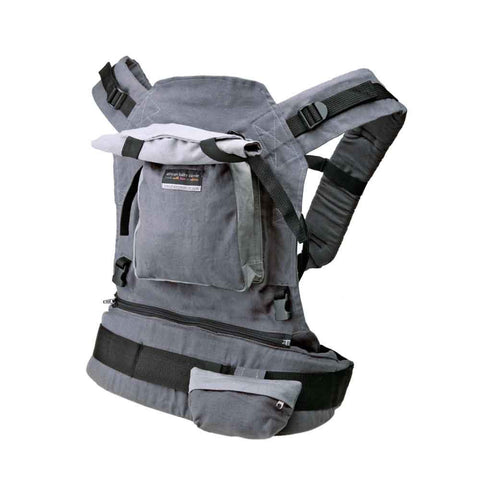 Deluxe Baby Carrier - Grey Hemp