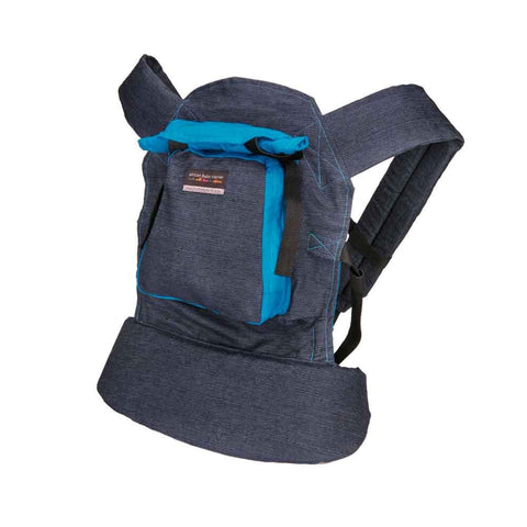 Original Baby Carrier - Blue Denim & Blue