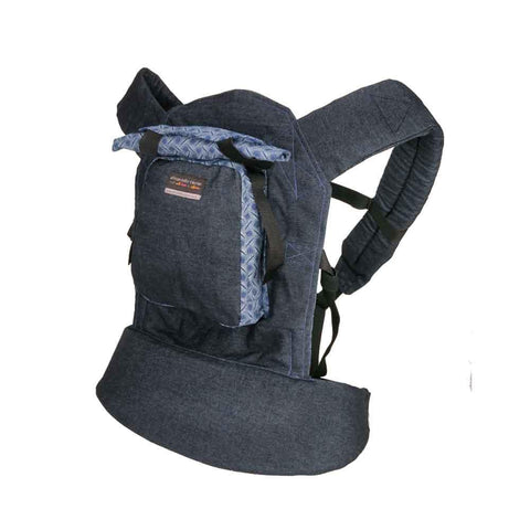Original Baby Carrier - Blue Denim & Shweshwe