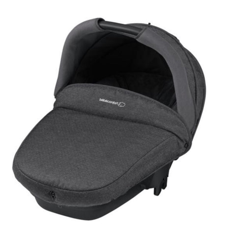 Compact Safety Carrycot - Sparkling Grey