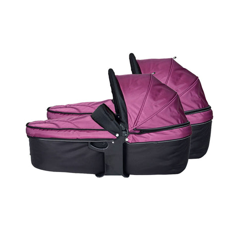 Quick Fix Twinner Double Carrycot - Berry