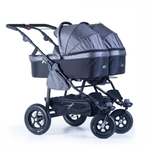 Quick Fix Twinner Double Carrycot - Grey