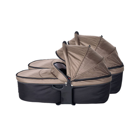 Quick Fix Twinner Double Carrycot - Mud