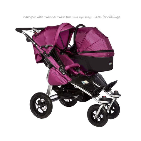 Quick Fix Twinner Singe Carrycot - Berry