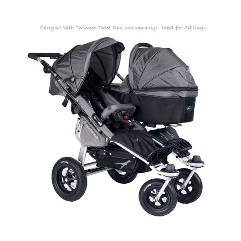 Quick Fix Twinner Singe Carrycot - Grey