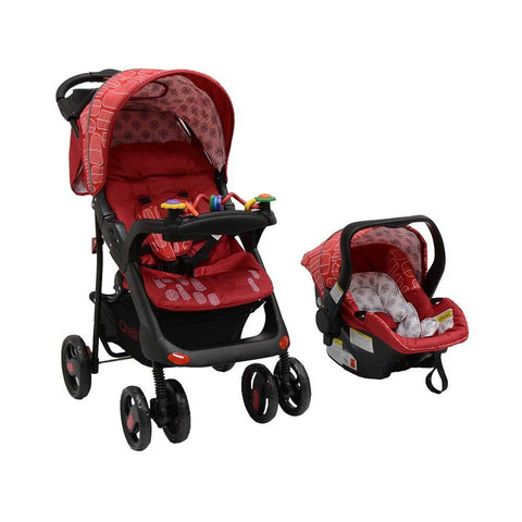 Tech Rider Travel System - Red