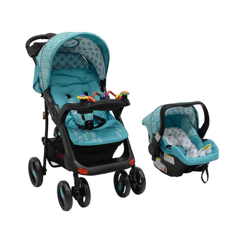 Tech Rider Travel System - Teal Blue