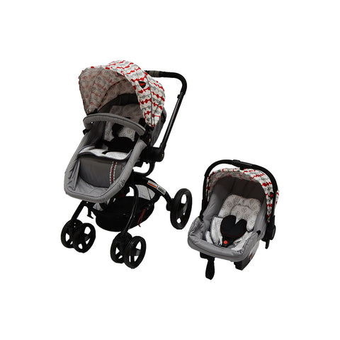 Twister Travel System - Grey