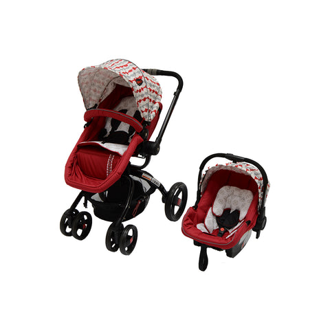 Twister Travel System - Red