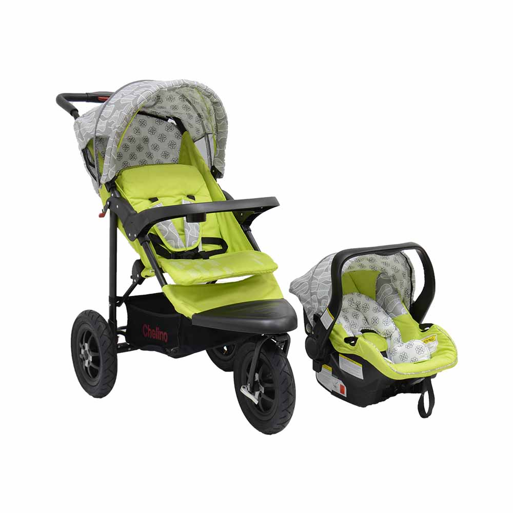 JTS Urban Detour Travel System - Green Leaf
