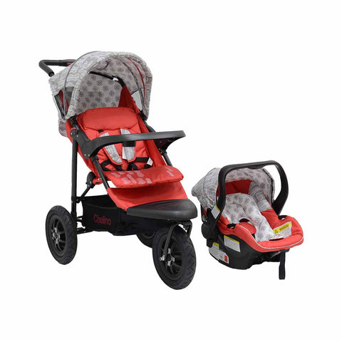 JTS Urban Detour Travel System - Red Leaf
