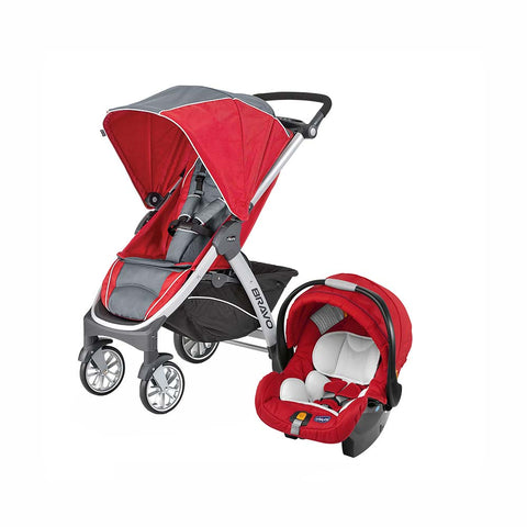 Bravo Travel System - Pulse Red