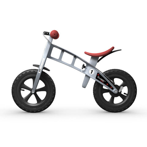 Cross Balance Bike with Brake - Silver