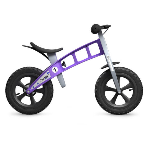 Cross Balance Bike with Brake - Violet