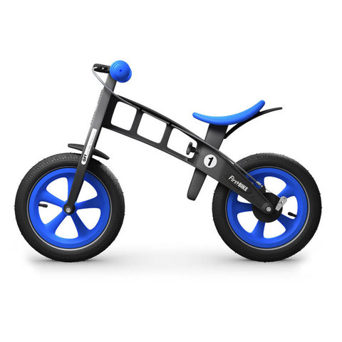 Limited Edition Balance Bike with Brake - Blue