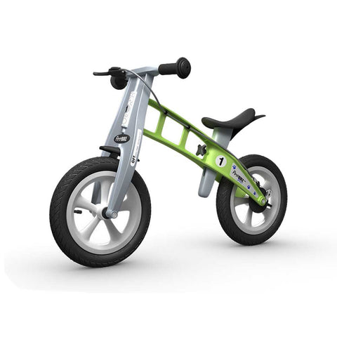 Street Balance Bike with Brake - Green