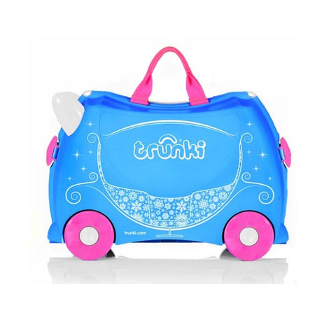 Ride-On Suitcase - Princess Carriage
