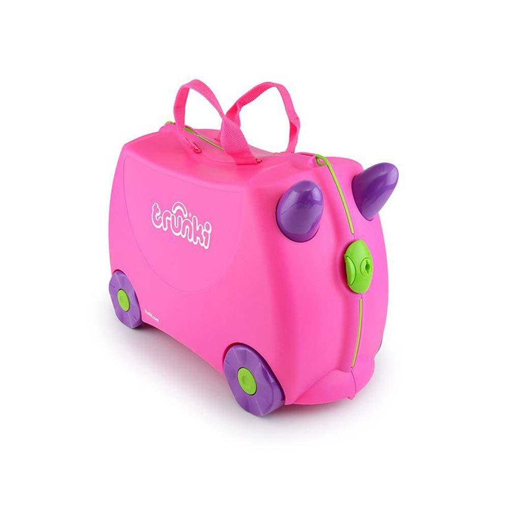 Ride-On Suitcase - Trixie Pink