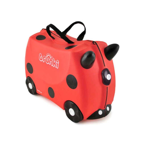 Ride-On-Suitcase - Harley the Ladybug