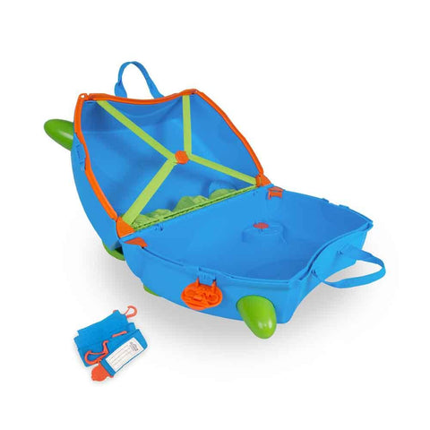 Ride-On Suitcase - Terrance Blue