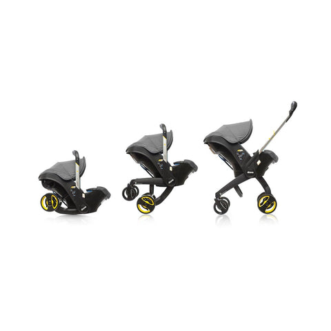 Integrated Car Seat & Stroller - Grey