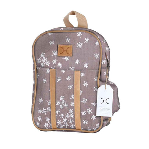 Kids Backpack - Spice - White on Silver