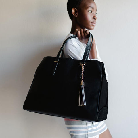 Nappy Bag - Melanie Black