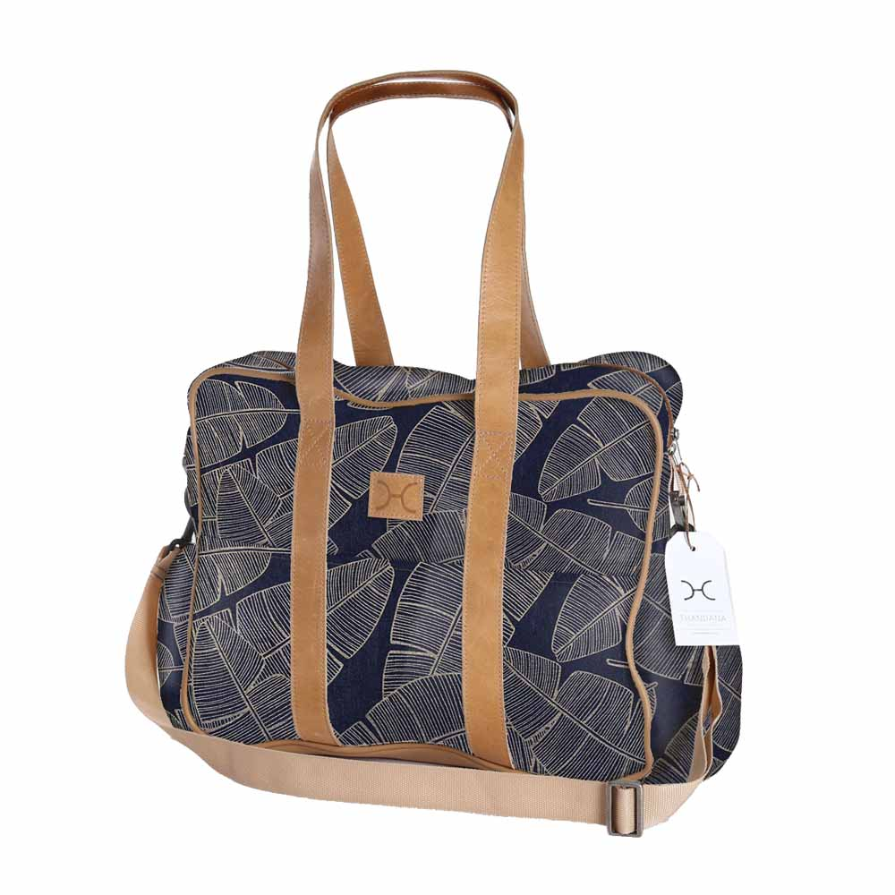 Toddler Bag - Shelly Beach - Gold on Navy