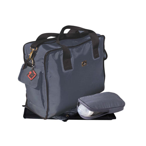 Smart & Sassy Nappy Bag - Grey