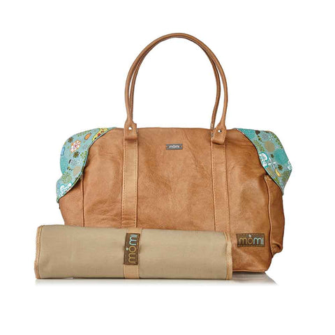 Leather Nappy Bag - Tweet