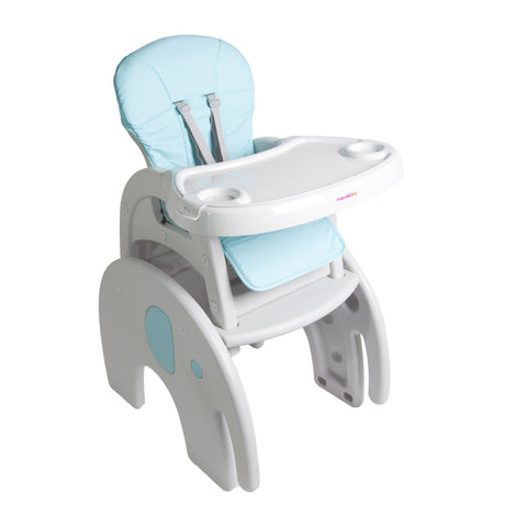 2-in-1 Feeding Chair - Blue Ellie