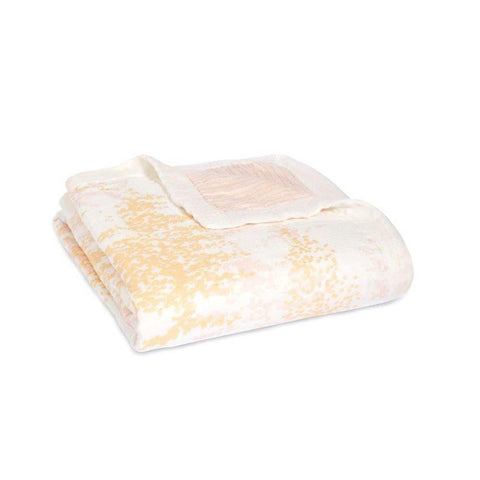 Bamboo Metallic Dream Blanket - Primrose Birch