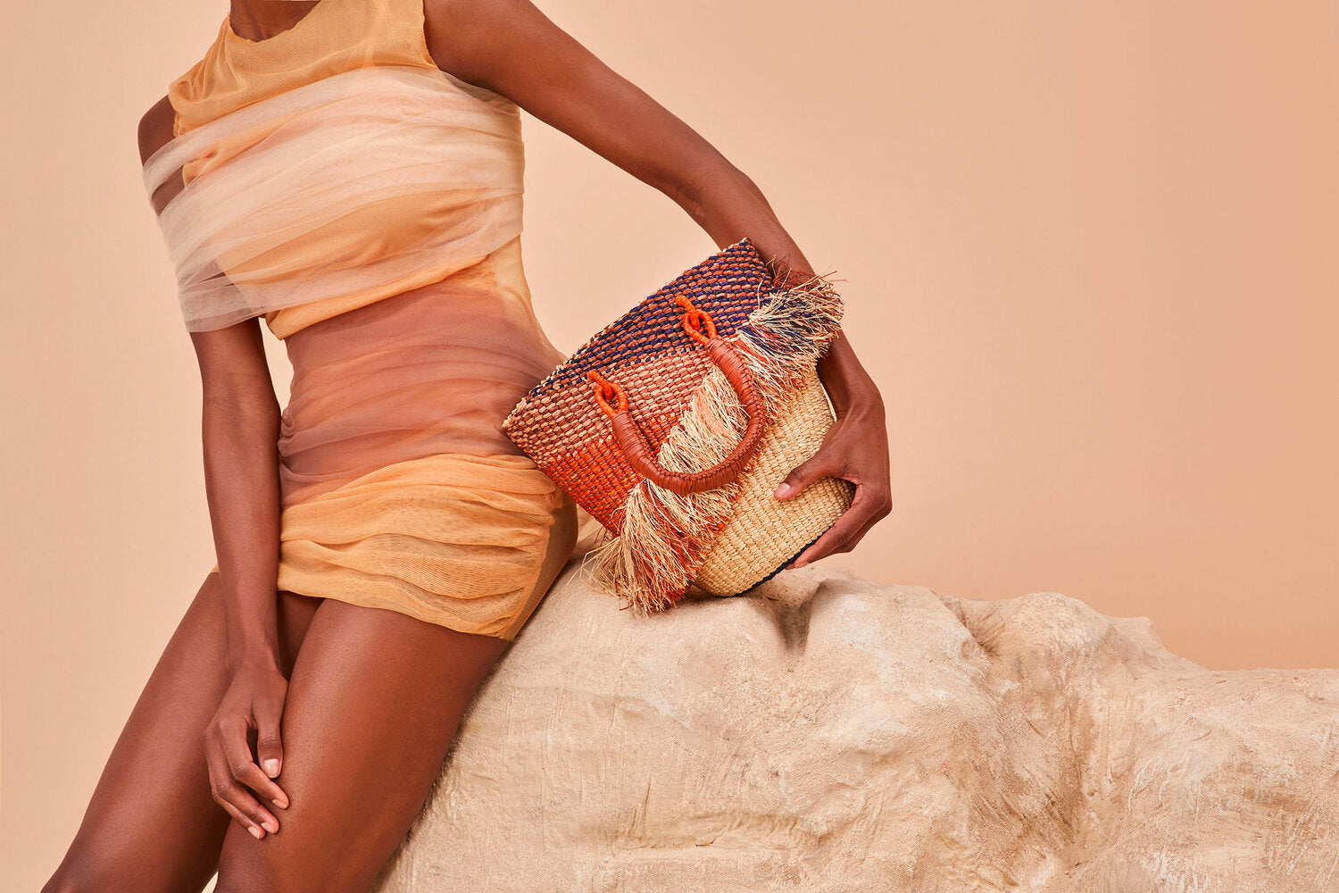 AAKS — Hand Crafted Summer Raffia Bags
