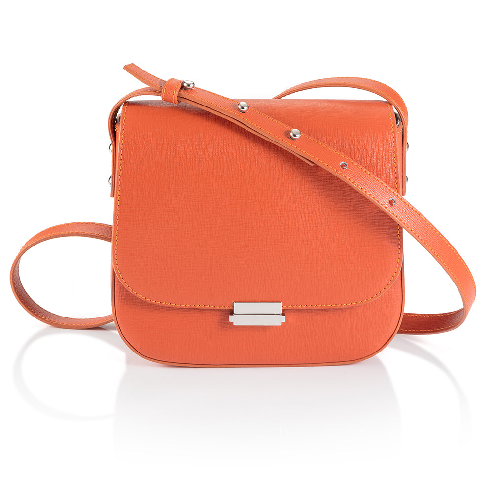 Sika'a Orange Cross-Body Bag