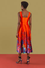 Queen Nandi Sleeveless Midi Dress
