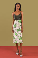 Afrcan print pencil skirt