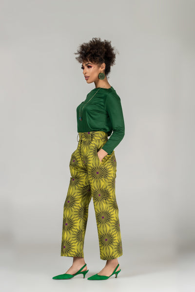 Flora Cropped Trousers