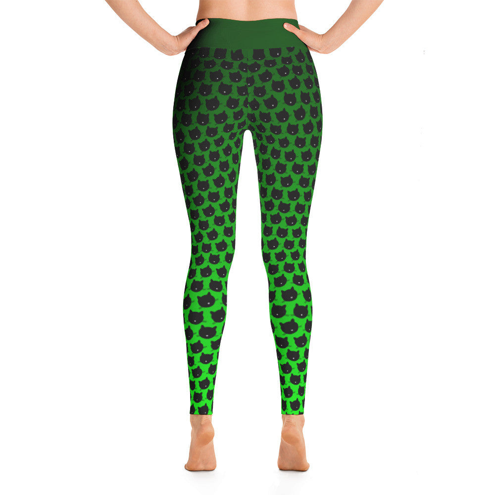 """Cat Spring"" Yoga Leggings"
