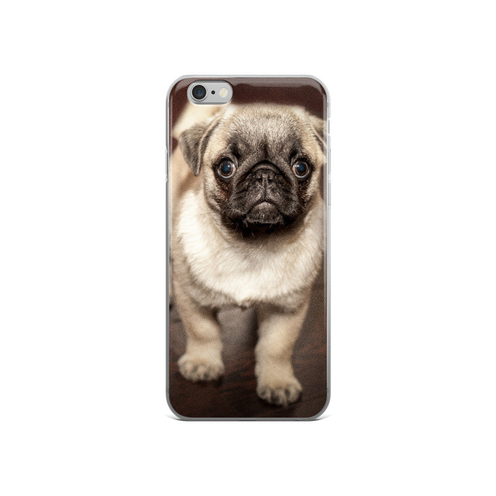 Adorable Pug iPhone 5/5s/Se, 6/6s, 6/6s Plus Case